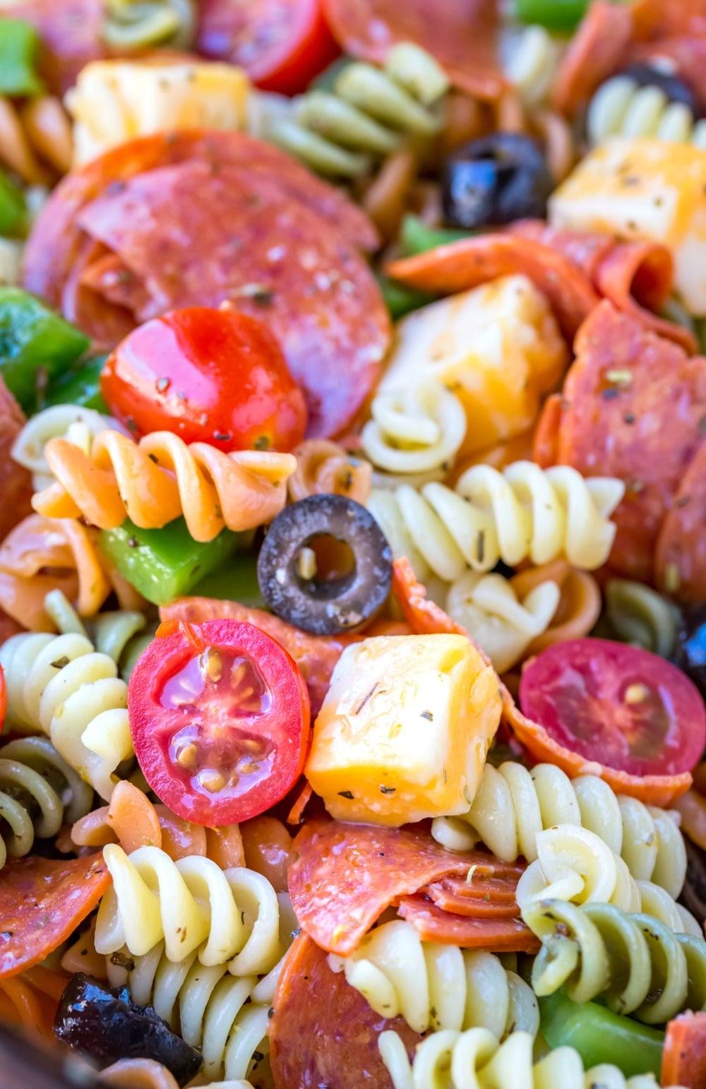 Easy Pasta Salad Recipe I Heart Eating