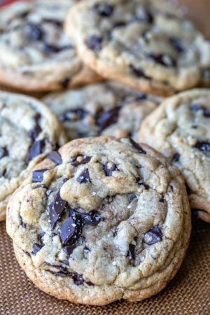Thick Homemade Chocolate Chip Cookies