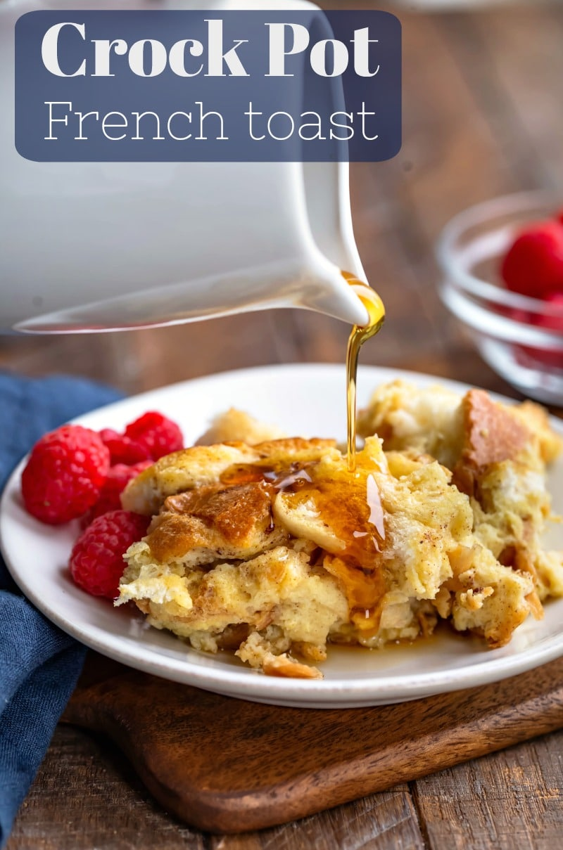 Crock Pot French Toast - the French toast