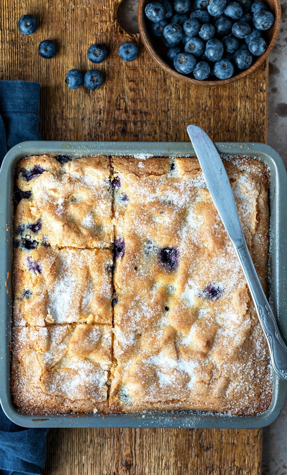 Blueberry Cake I Heart Eating