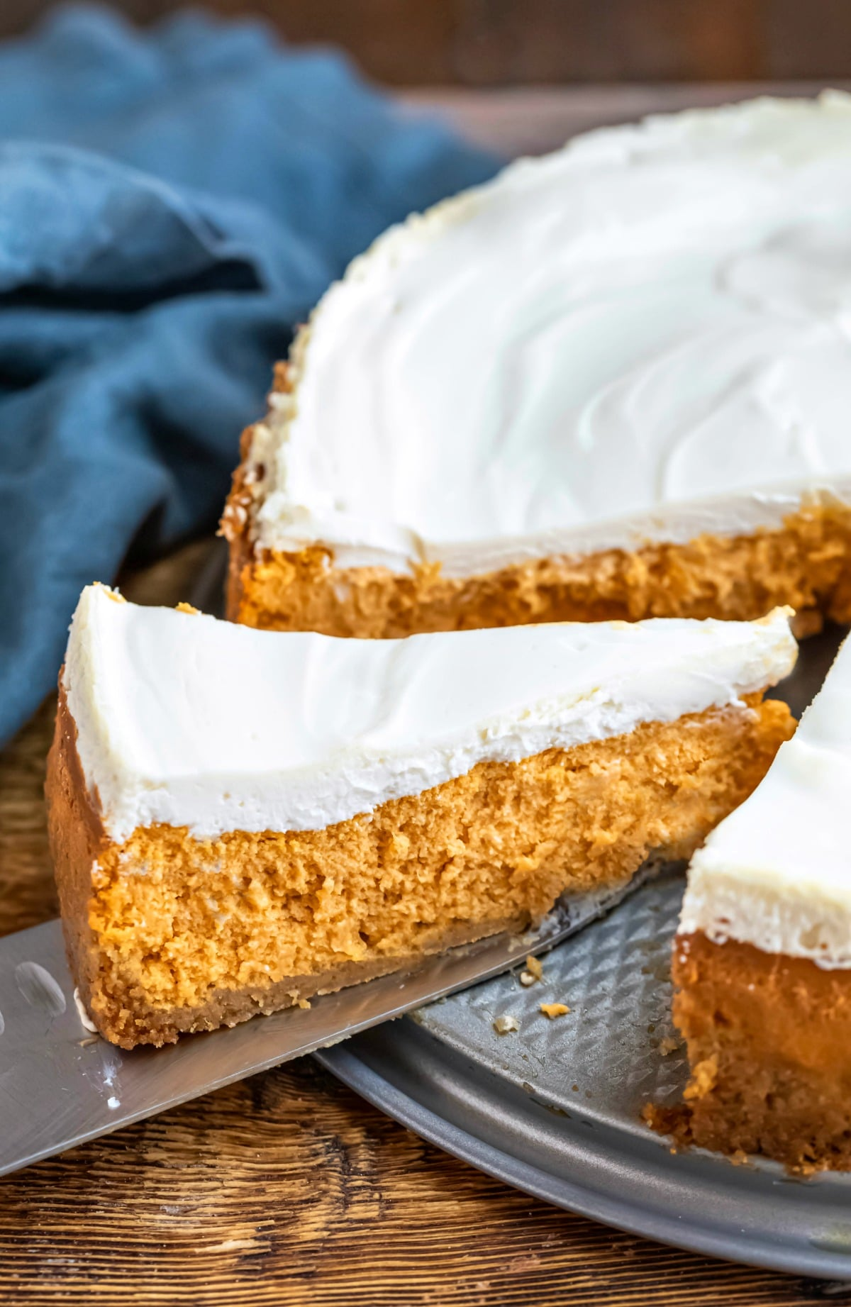 Pumpkin Cheesecake Recipe I Heart Eating